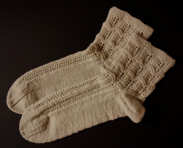 "REGIA-Silk Bettsocken in ""leinen"""