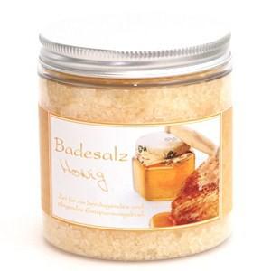 Badesalz Honig