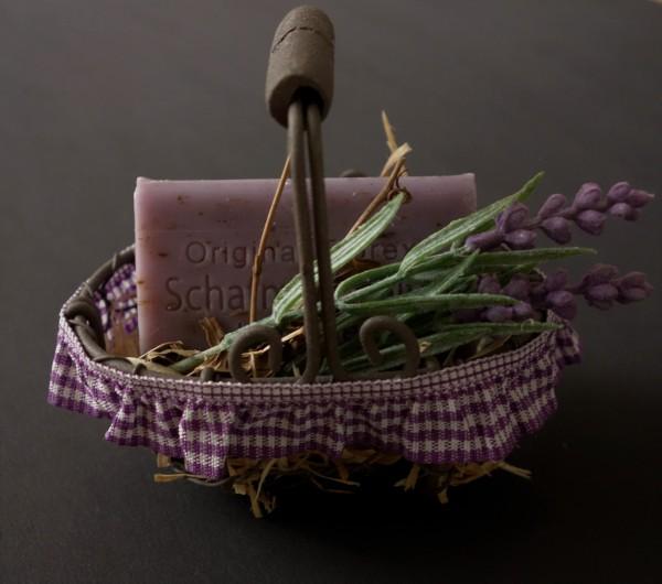 Lavendel-Körbchen