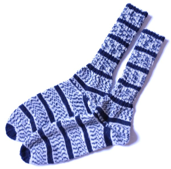 Herrensocken aus REGIA Racing Color 1