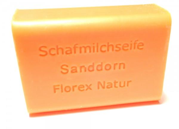 Schafmilchseife Sanddorn
