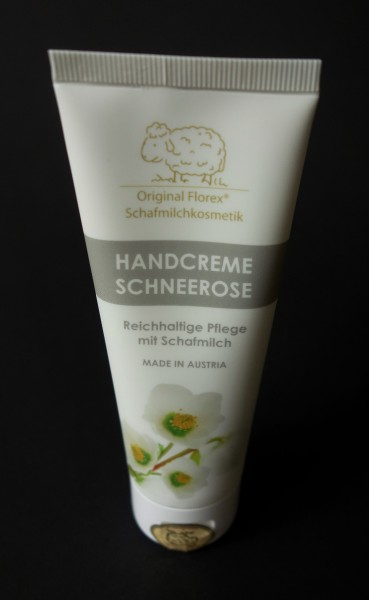 Schafmilch-Handcreme Schneerose