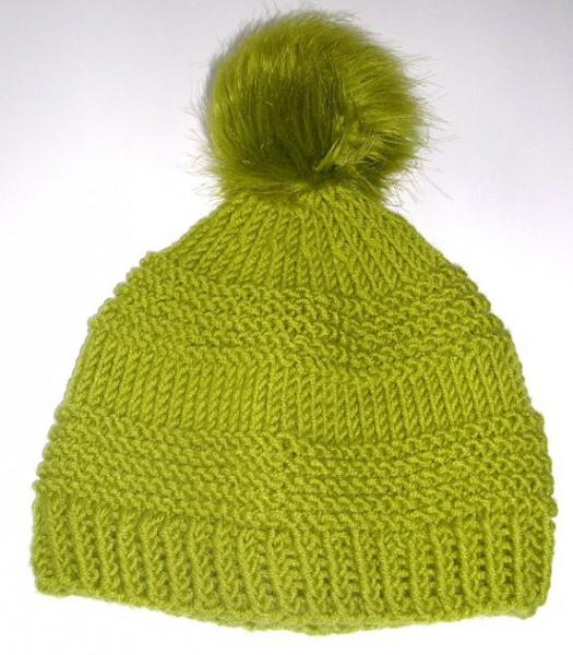 Tolle Mütze in angesagtem Grün