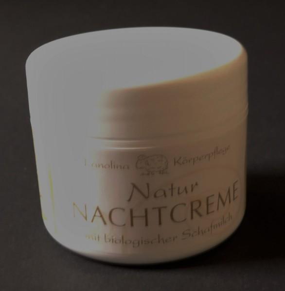 Florex Natur-Nachtcreme mit biologischer Schafmilch