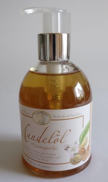 Flüssige Schafmilchseife Mandelöl