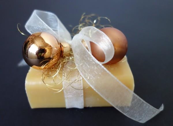 Schafmilchseife Mandelöl weihnachtlich